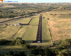 Aerial photo of 3E0 (Miami-Roberts County Airport)