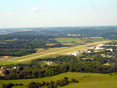 Aerial photo of KAFJ (Washington County Airport)