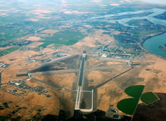 Aerial photo of KMWH (Grant County International Airport)