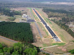 Aerial photo of KCTZ (Clinton-Sampson County Airport)
