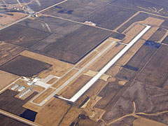 Aerial photo of KFFL (Fairfield Municipal Airport)