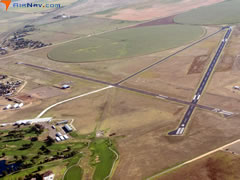 Aerial photo of KEHA (Elkhart-Morton County Airport)