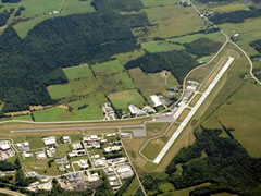 Aerial photo of KMPV (Edward F Knapp State Airport)