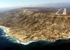 Aerial photo of KNSI (San Nicolas Island Naval Outlying Field)