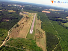 Aerial photo of 0V4 (Brookneal/Campbell County Airport)