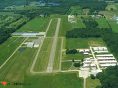 Aerial photo of KPOV (Portage County Airport)