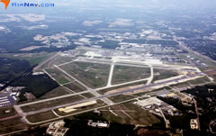 Aerial photo of KRIC (Richmond International Airport)