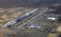 Aerial photo of KBDN (Bend Municipal Airport)