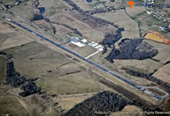 Aerial photo of 6I2 (Lebanon Springfield Airport-George Hoerter Field)
