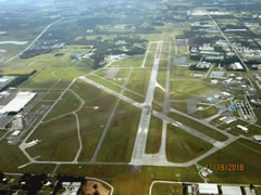 Aerial photo of KLAL (Lakeland Linder Regional Airport)