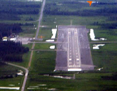 Aerial photo of PACV (Merle K (Mudhole) Smith Airport)