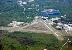 Aerial photo of KSFM (Sanford Seacoast Regional Airport)