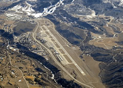 Aerial photo of KASE (Aspen-Pitkin County Airport/Sardy Field)