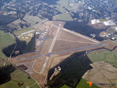Aerial photo of KOCW (Washington-Warren Airport)