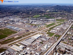 Aerial photo of KSEE (Gillespie Field Airport)