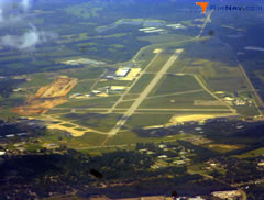 Aerial photo of KBTL (W K Kellogg Airport)