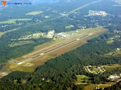 Aerial photo of KMKS (Berkeley County Airport)