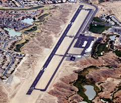 Aerial photo of 67L (Mesquite Airport)