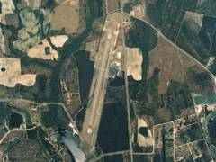 Aerial photo of KMNI (Santee Cooper Regional Airport)