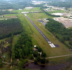 Aerial photo of M83 (McCharen Field Airport)