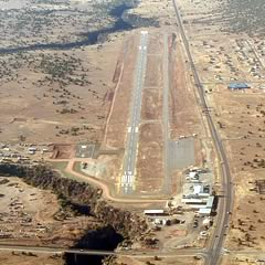 Aerial photo of E24 (Whiteriver Airport)