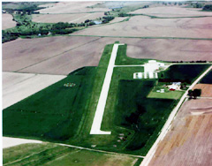 Aerial photo of 7V7 (Red Cloud Municipal Airport)