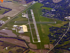 Aerial photo of KMVN (Mount Vernon Airport)