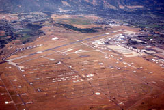 Aerial photo of KHIF (Hill Air Force Base)