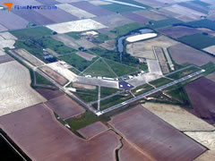 Aerial photo of KSGT (Stuttgart Municipal Airport / Carl Humphrey Field)