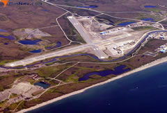 Aerial photo of PAOM (Nome Airport)