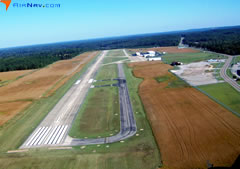 Aerial photo of KSNH (Savannah-Hardin County Airport)