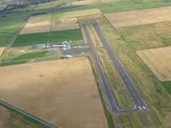 Aerial photo of 7S0 (Ronan Airport)