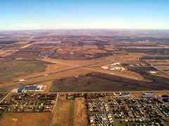 Aerial photo of KJMS (Jamestown Regional Airport)
