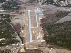 Aerial photo of KHVS (Hartsville Regional Airport)