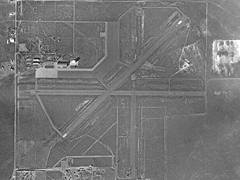 Aerial photo of KFSU (Fort Sumner Municipal Airport)