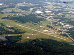 Aerial photo of KPGV (Pitt-Greenville Airport)