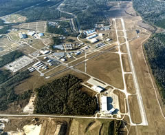 Aerial photo of KCXO (Conroe-North Houston Regional Airport)