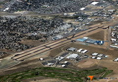 Aerial photo of KCXP (Carson Airport)