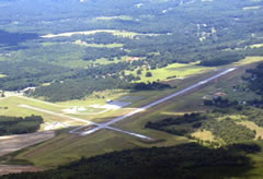 Aerial photo of 48A (Cochran Airport)
