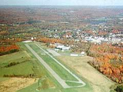 Aerial photo of 8G2 (Corry-Lawrence Airport)
