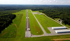 Aerial photo of W78 (William M Tuck Airport)