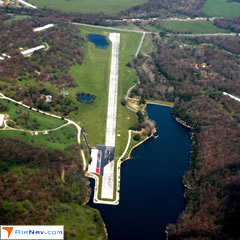 Aerial photo of 5M5 (Crystal Lake Airport)