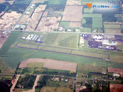 Aerial photo of KDLL (Baraboo-Wisconsin Dells Regional Airport)