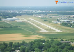 Aerial photo of KHFY (Indy South Greenwood Airport)