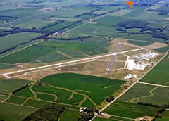 Aerial photo of KDNV (Vermilion Regional Airport)
