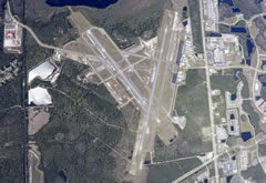 Aerial photo of KFIN (Flagler Executive Airport)