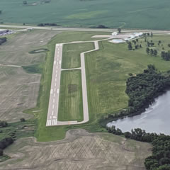 Aerial photo of KFSE (Fosston Municipal Airport-Anderson Field)