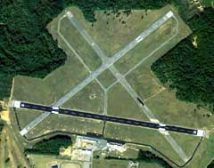 Aerial photo of KCKF (Crisp County-Cordele Airport)
