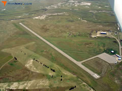 Aerial photo of 9D2 (Harding County Airport)