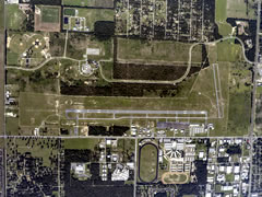 Aerial photo of KOCF (Ocala International Airport-Jim Taylor Field)